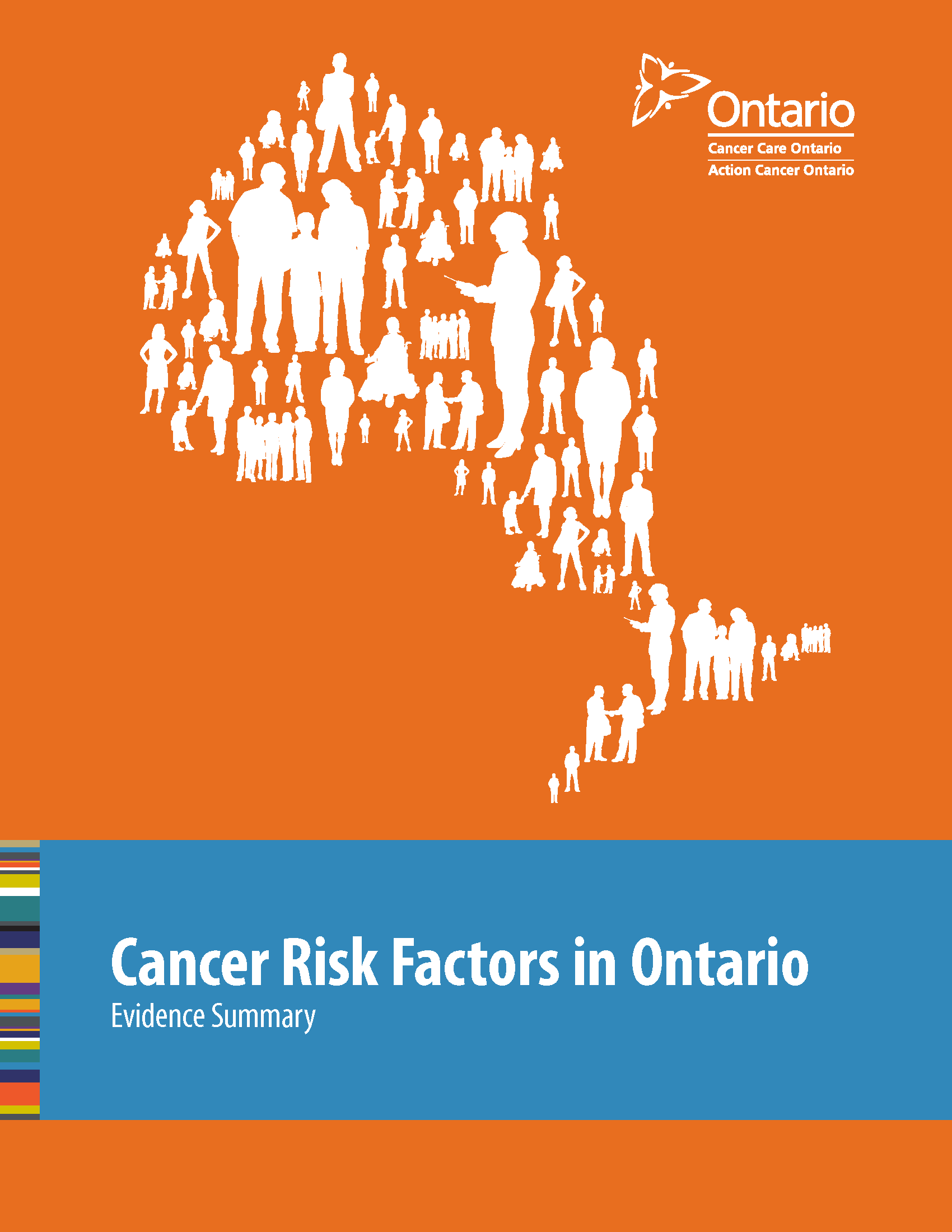 Cancer Risk Factors in Ontario: Evidence Summary